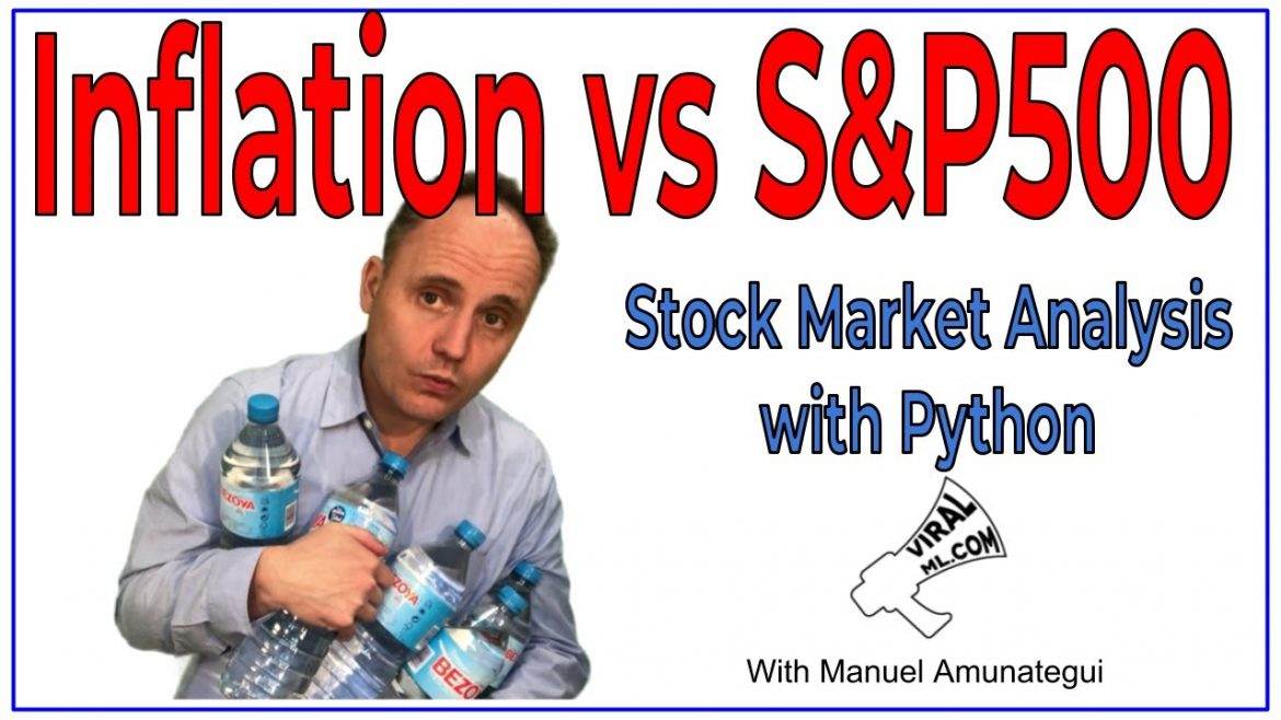Consumer Price Index (CPI) vs S&P 500 – Stock Market Analysis with Python