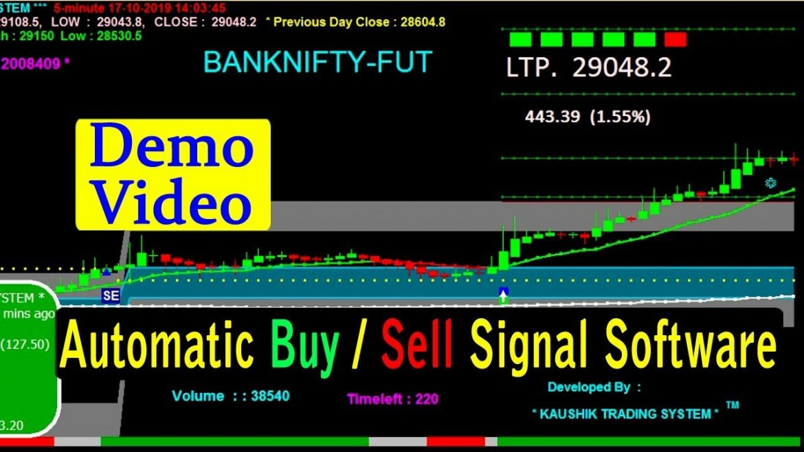Live Demo Video || Kaushik Trading System || Best Trading Software ||