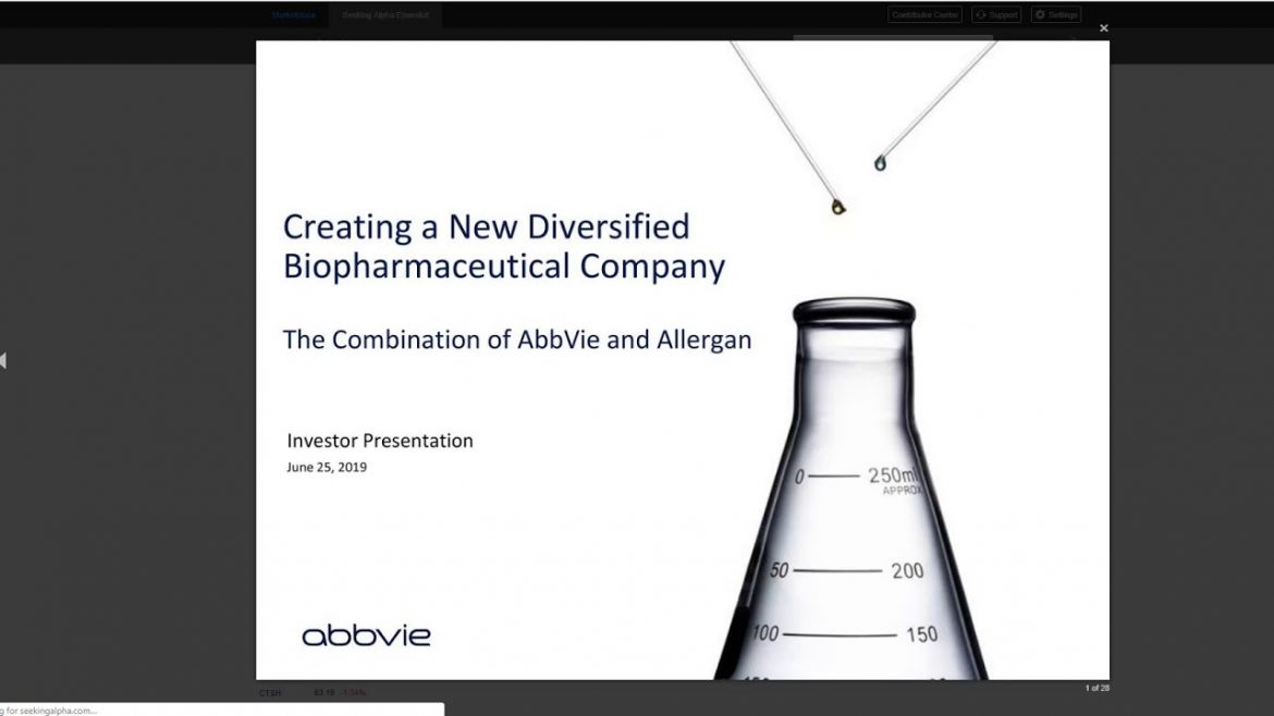 $ABBV AbbVie Has It All: Growth, Dividend Growth and Compelling Valuation