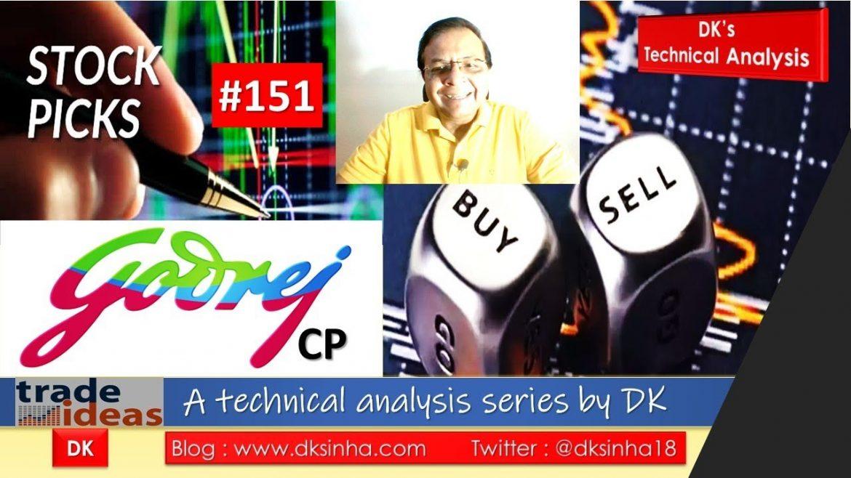 GODREJ CP 31OCT2019 #StockPick #Trade Idea #stocks #TechnicalAnalysis #Trading