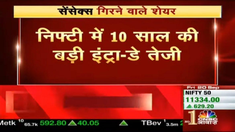 Market Live: Nirmala Sitharaman के ऐलान के बाद बाजार को लगे पंख, Sensex 2000 अंक ऊपर