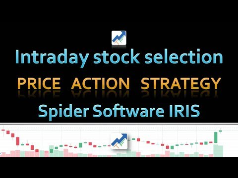 Intraday Stock Selection | Price Action Strategy | Spider Software IRIS | Hindi | Day Trading