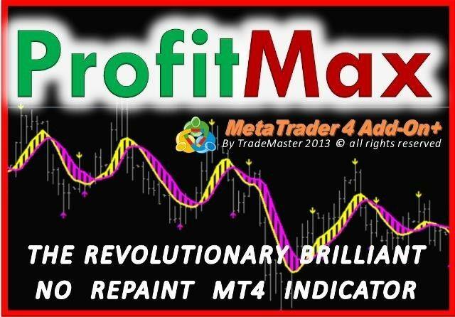 **ProfitMax** No Repaint Indicator Meta Trader MT4 FOREX STOCKS FUTURES Trading