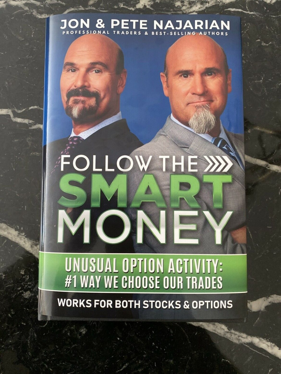 Follow The Smart Money Jon And Pete Najarian Book Trade Stocks And Options
