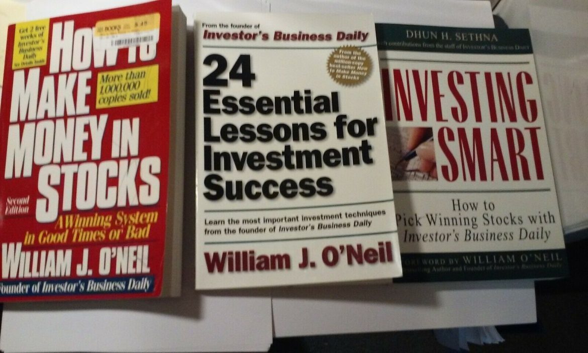 Stock investing trading books Lot of 3