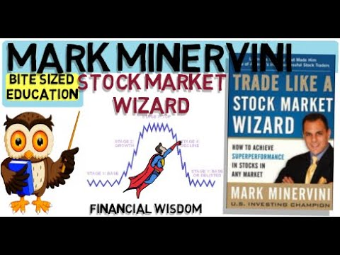 MARK MINERVINI- Trade like a stock market wizard – Stock Trading strategies