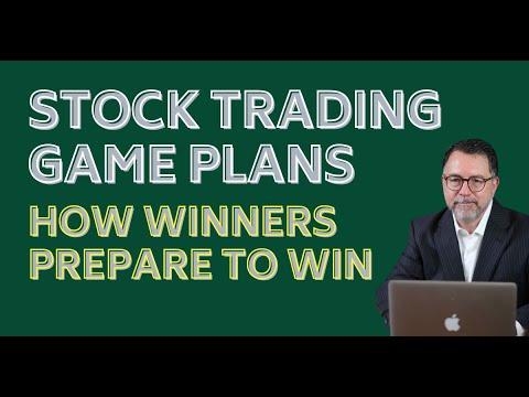 Stock Trading Game Plan 2021
