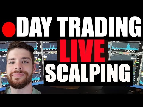 🔴 LIVE Day Trading Scalping GME, AMC + RKT ? Penny Stocks (CLPS BNGO WTRH SLGG METX EYES) ES futures
