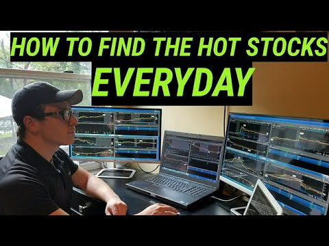 How To Find The Best Stocks To Trade Everyday!