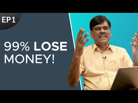 Most Hard Hitting Fact in Stock Market || Why NO To Trading E01