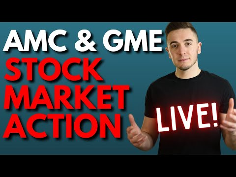 🔴[LIVE] AMC & GAMESTOP 💎🙌: WHEN IS THIS SQUEEZE GOING TO HAPPEN? || STOCK MARKET ACTION