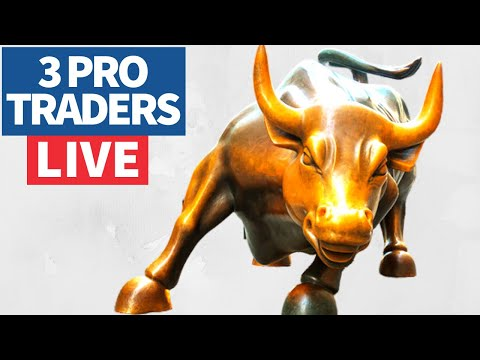 Join 3 Pro Traders Make (& Lose) Money💰, Day Trading. – March 18, 2021