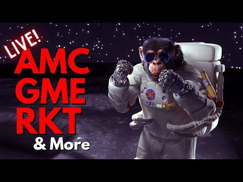 MARKET ACTION: AMC, GME, RKT & More 💎🙌 || 100,000 Special 🚀🚀🚀