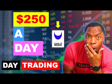 How To Make $250/Day Day Trading Stocks On WeBull | Step By Step Day Trading For Beginners