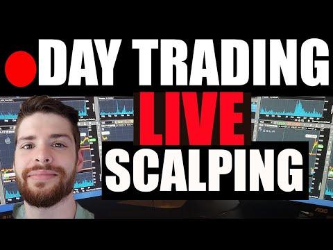 🔴 LIVE Day Trading Scalping RKT, SKT, GME + AMC? Penny Stocks (AESE LPCN SLGG SOS TRXC) ES futures