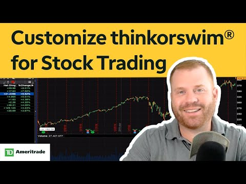 How to Set Up thinkorswim® for Stock Trading