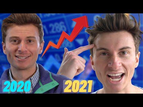 trading stocks in 2020 Vs. 2021
