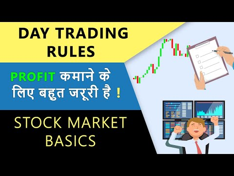 8 Golden Rules For Intraday Trading | Stock Trading Basics | Hindi
