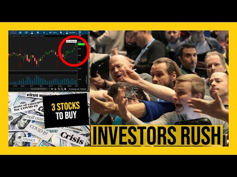 THE STOCK MARKET IS GOING TO GO CRAZY TOMORROW! – My Watchlist – 3 STOCKS I'M GOING TO BUY!