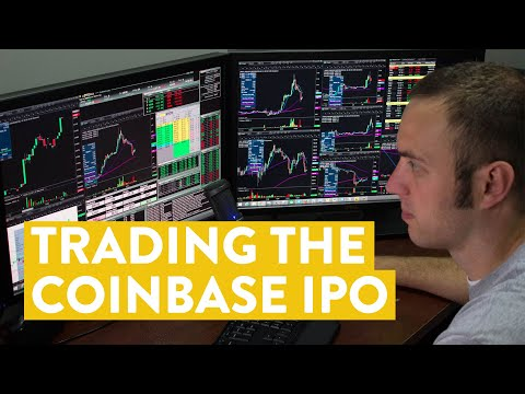 [LIVE] Day Trading | I Traded the Coinbase Stock ($COIN) IPO…