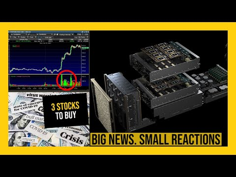 THE STOCK MARKET IS GOING INTO EARNINGS MODE! – My Watchlist – 3 STOCKS TO BUY NOW!
