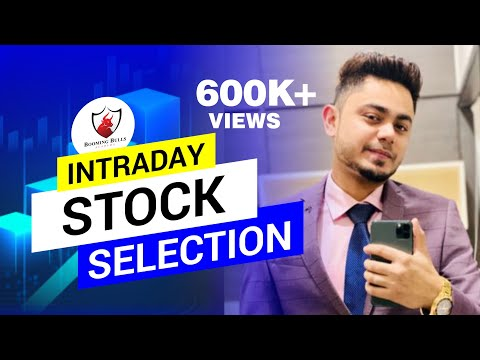 How to select Stocks for Intraday Trading | Trading Secrets | Anish Singh Thakur || Booming Bulls ||