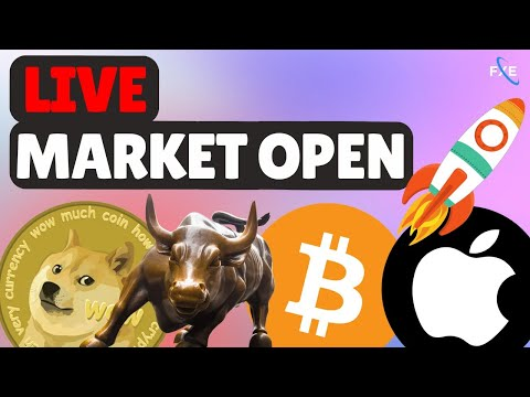 🔴LIVE -Day Trading, The Stock Market Is Falling!💎🙌! Nasdaq, SP500, Bitcoin, TSLA [STOCK MARKET LIVE]