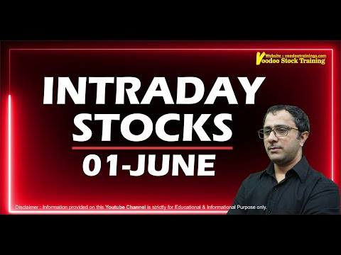 Best Intraday Stock To Trade Tomorrow – 01 June | What To Buy & Sell | Intraday Trading Tips