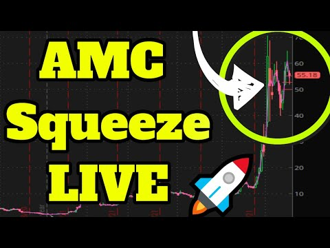 🚀AMC & GME Squeeze LIVE (100+?) Dogecoin! Day Trading Penny Stocks (SNDL GERN GEO BB WKHS EXPR)