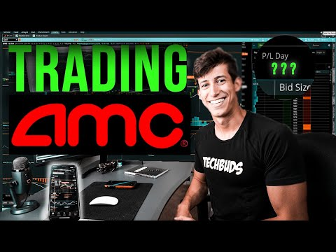 ✅ DAY TRADING AMC STOCK WITH $500,000 (PROFIT?)