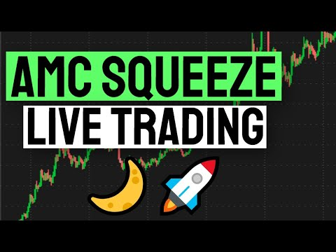 🚀AMC & GME Squeeze LIVE (100+?) Dogecoin! Trading Penny Stocks (SNDL GTT JZXN BB WKHS EXPR)