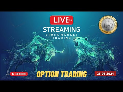 25 June Free Option Trading   Bank nifty live trading   PCR Option trading   Stock Trading   Deepak