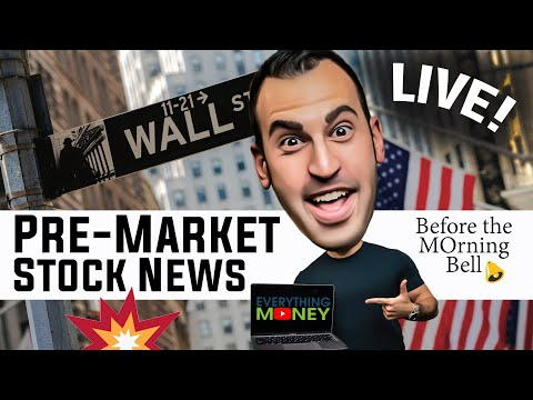 MOrning Bell – Stock Trading LIVE! Tuesday June 8th