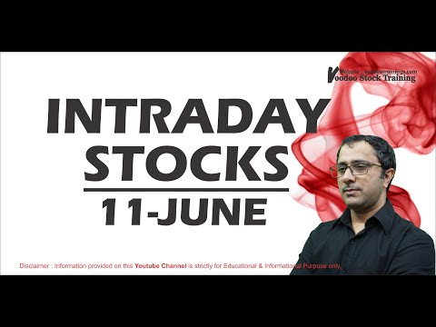 Best Intraday Stock To Trade Tomorrow – 11 June | What To Buy & Sell | Intraday Trading Tips