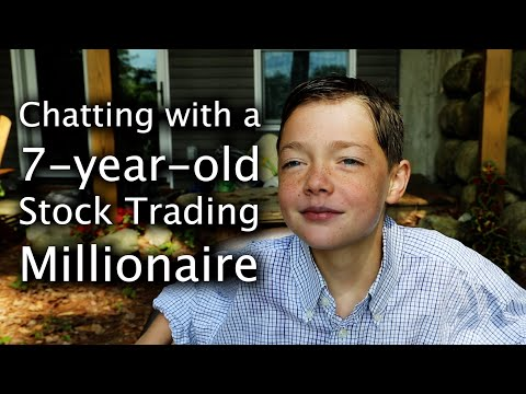 Chatting with a 7-year-old Stock Trading Millionaire