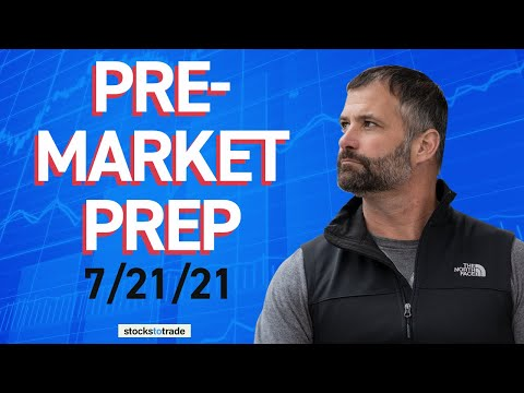 Pre Market Prep- Stock Market 07/21/2021