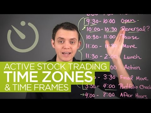 Active Stock Trading Time Zones & Hours