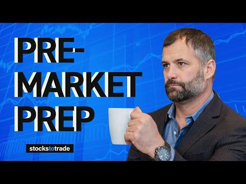 Pre Market Prep- Stock Market 7/19/21