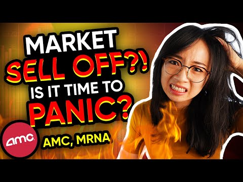 Trading Stock Market Gap Down $AMC $MRNA recap