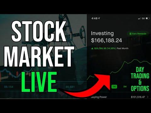TRADING ROBINHOOD IPO LIVE!! – Live Trading, DOW & S&P, Stock Picks, Day Trading & STOCK NEWS