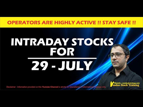 Best Intraday Stock For Tomorrow – 29 July || Intraday Trading Tips || Daily Price action Learning