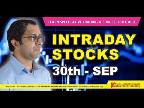 Best Intraday Stock For Tomorrow – 30 Sep || Intraday Trading Tips || Daily Price action Learning