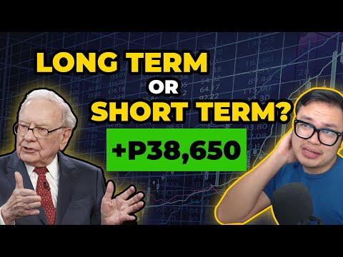 How SHOULD you trade?? ( Long term or Short term) | Buhay Stock Trading