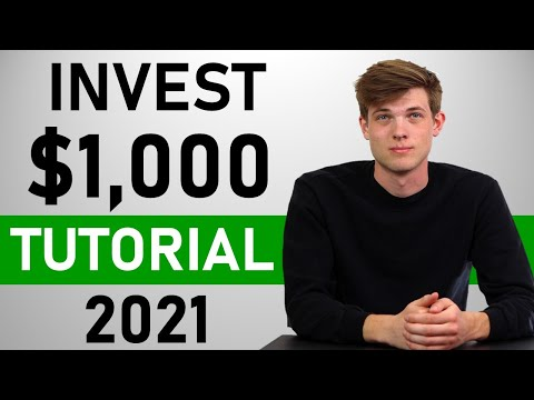 Stock Market For Beginners 2021 | How To Invest (Step by Step Tutorial)