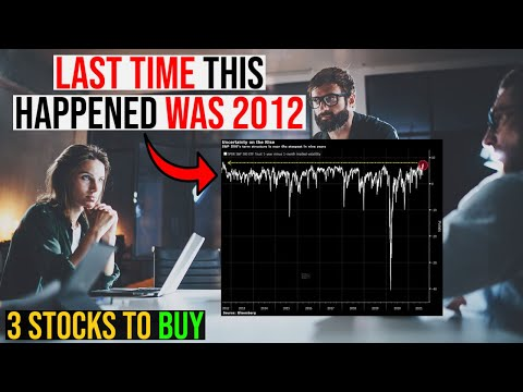 THE STOCK MARKET IS RUSHING FOR PROTECTION! – 3 STOCKS TO BUY NOW!