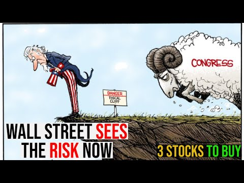 THE DEBT CEILING CAN CRASH THE STOCK MARKET! – 3 STOCKS TO BUY NOW!