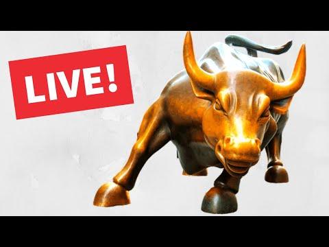 Watch Day Trading Live – October 13, NYSE & NASDAQ Stocks