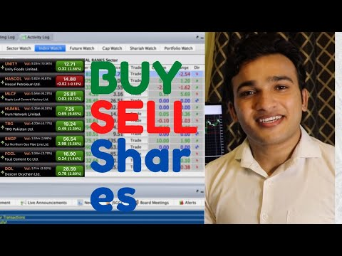 How to Buy and Sell Shares in Pakistan Stock Market