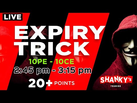 Live Trading in Bank Nifty 7th October 2021 – Expiry Trick